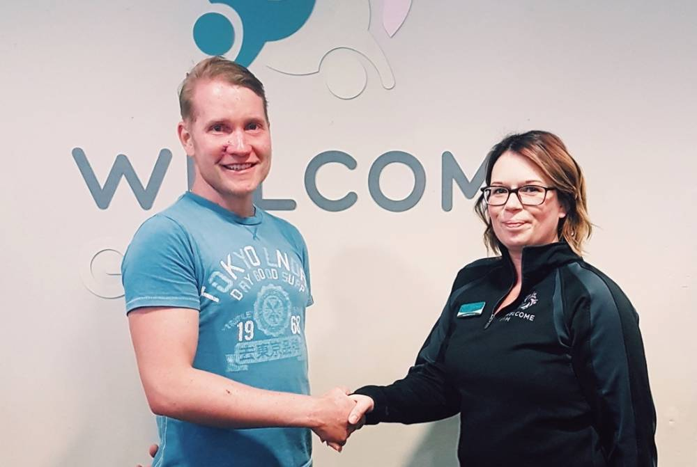 Ben Dawson from Cheltenham Crowned Welcome Gym Member of the Year 2018!