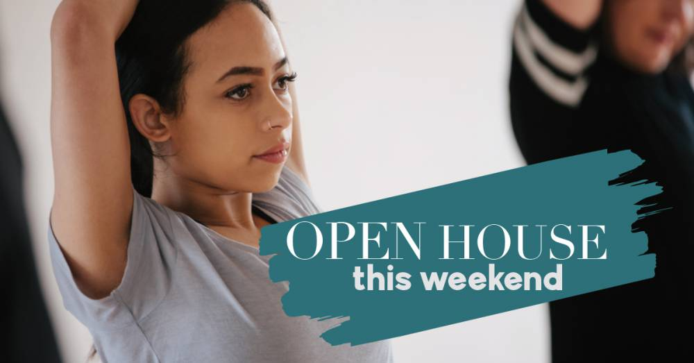 Everyone's Welcome To Our Open Weekend Jan 25th - 27th!