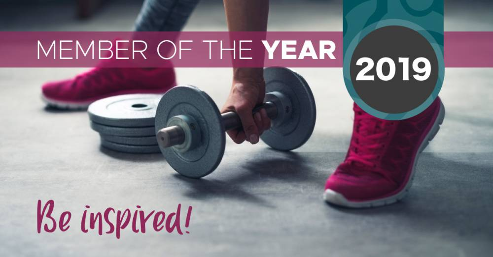 Welcome Gym Member of The Year Competition - Be inspired by last year's winners