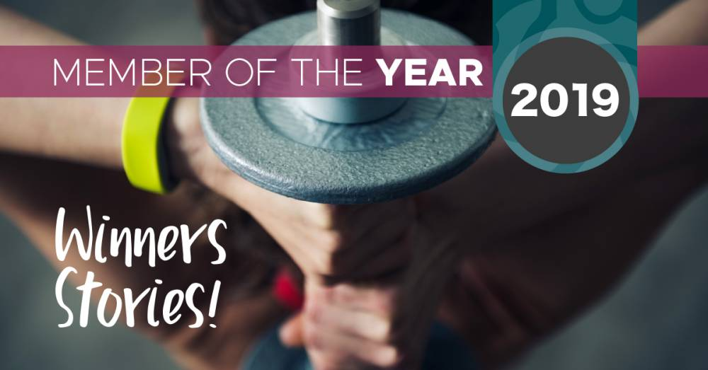Congratulations To Welcome Gym's Regional Members Of The Year 2019!