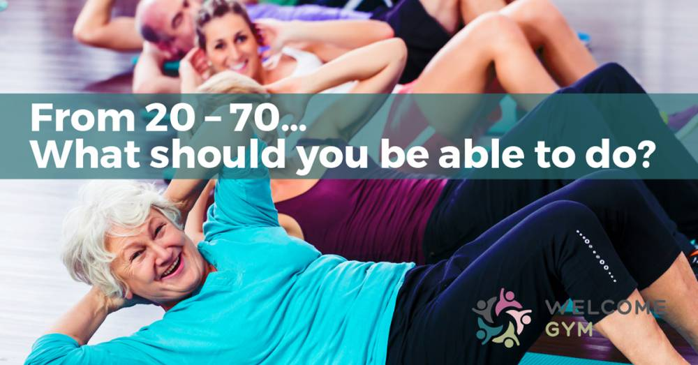 Measuring Your Fitness From Your 20s to Your 70s