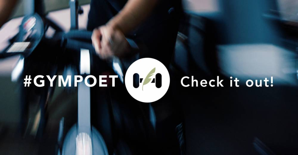 Gym Poet Brings Poetry In Action To Your Club