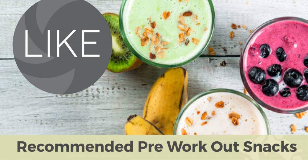 Quick and Easy Pre-Workout Snacks!