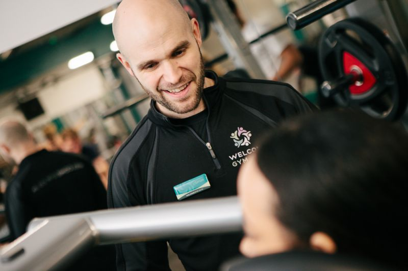 Our Gym Manager Simon At Welcome Gym Maidstone